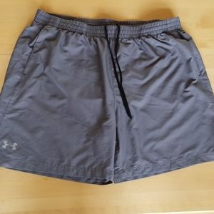 Under Armour Gray Athletic Heat Gear Shorts